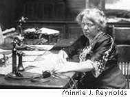 DWPC first president Minnie J. Reynolds