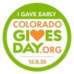 Colorado Gives Day!  Donations for Scholarships can be scheduled Nov 1 – Dec 7